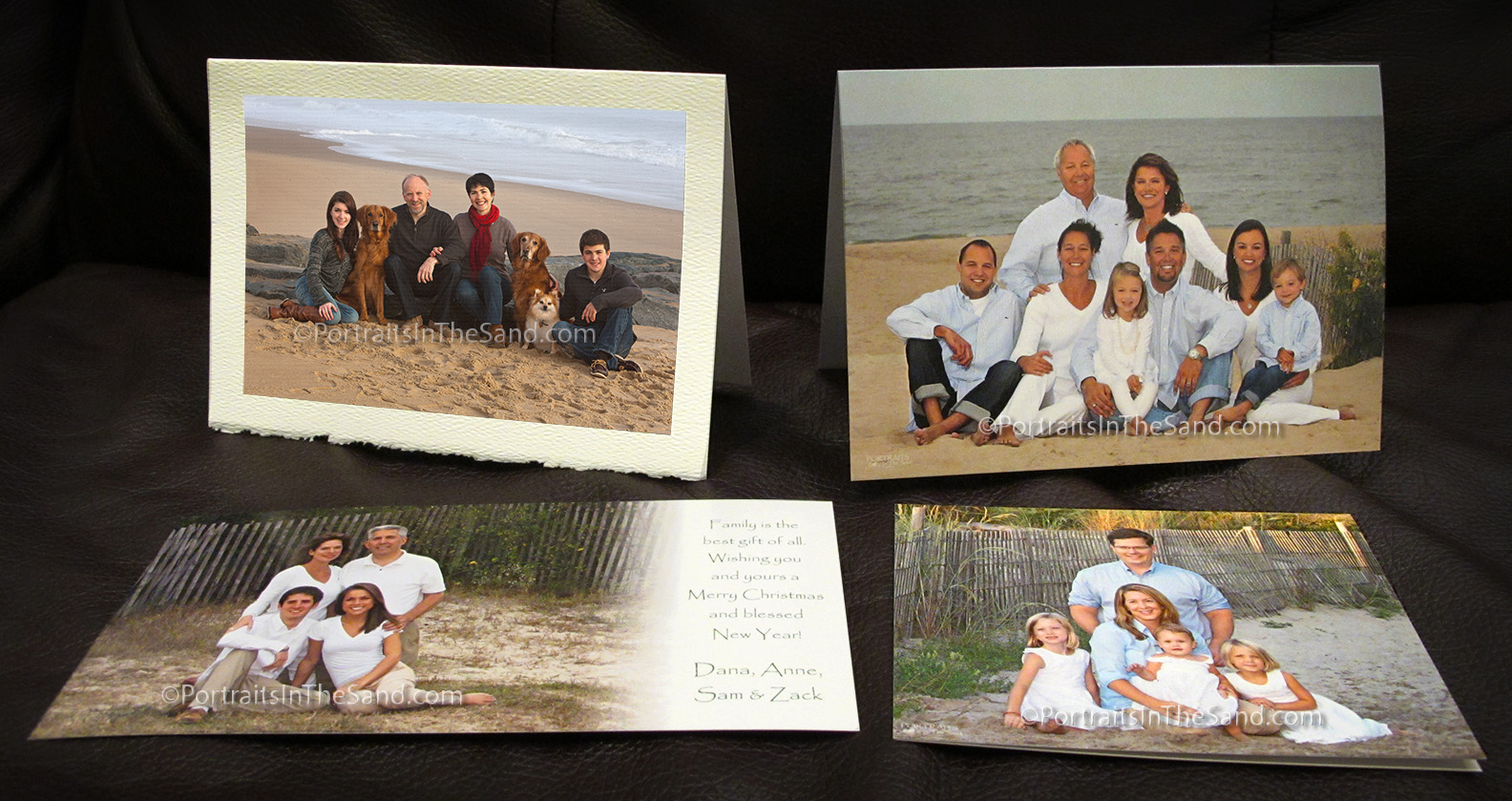 Holiday greeting cards portraits in the sand best portrait fine art cards kristyandbryce Gallery